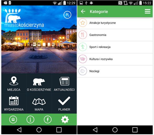 Bezpłatna mobilna aplikacja Miasta Kościerzyna
