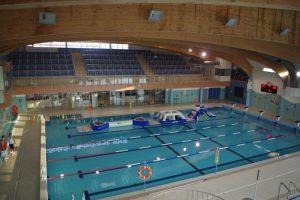 basen w Pomorskim, kąpiele, tor wyścigowy, zjeżdżalnie